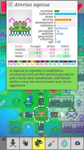 Télécharger gratuit Vilmonic - Évolution d'une Vie de Pixels APK MOD 2