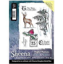 Sheena Douglass Scenic Winter Stamp A5 - Wishes of the Season UTGÅENDE