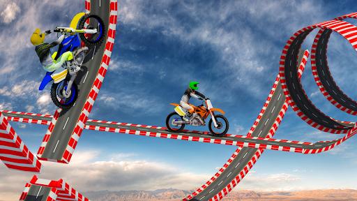 Stunt Bike Impossible Tracks-Race Moto Drive Game image | 4