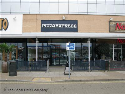 Pizzaexpress On Barbican Approach Restaurant Italian In