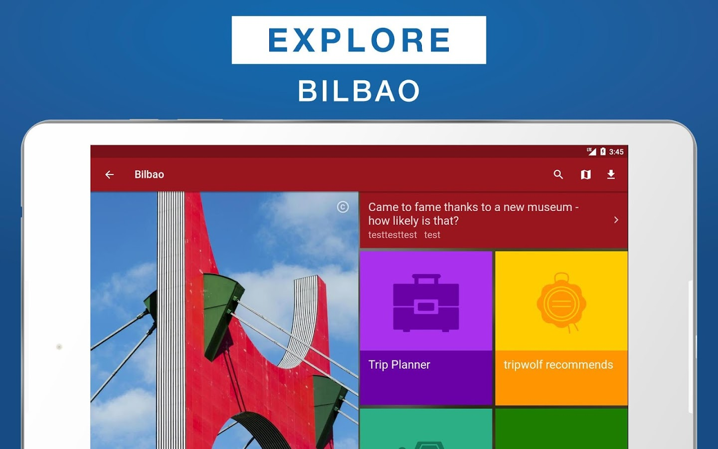 Bilbao Travel Guide- screenshot