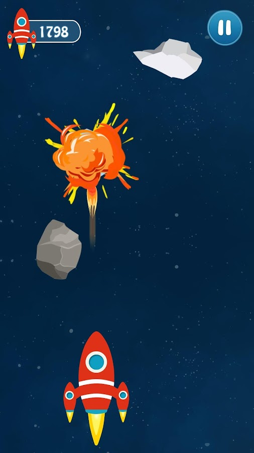 Nifty Jet Space Shooter- screenshot
