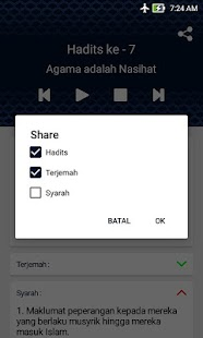 Hadits Arbain Nawawi Hack for the game
