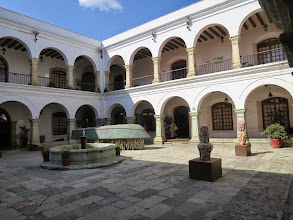 Photo: This ex-convent attached to Soledad Bascilica has been repurposed into office space...