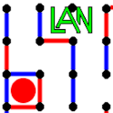 Dots and Boxes LAN icon