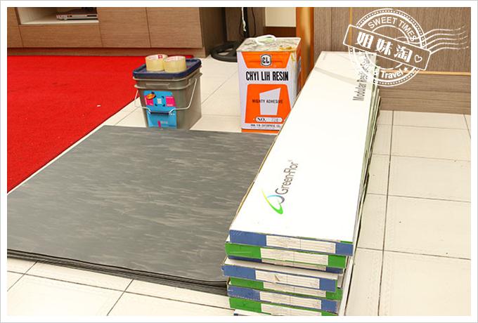 富銘塑膠地板Green-Flor 免膠式