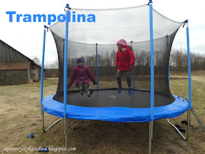 Photo: Trampolina do 200 KG.