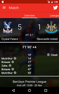 Crystal Palace FC- screenshot thumbnail