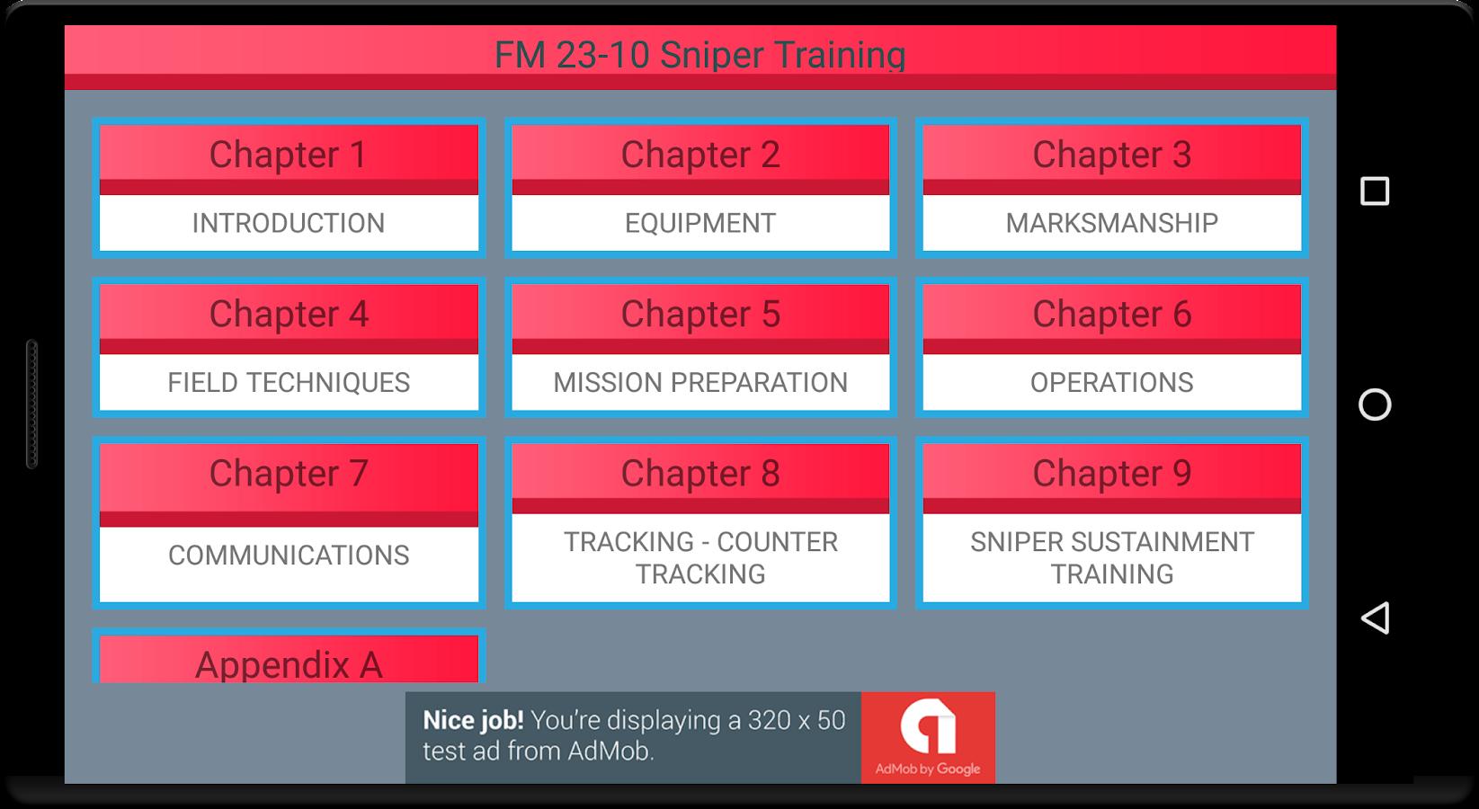 Sniper Training FM 23-10 Manual (CD)