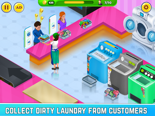 Laundry Service Dirty Clothes Washing Game 1.11 screenshots 1