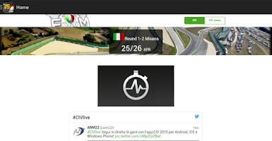 Screenshot of CIV 2015