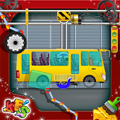 Bus Factory Builder Game