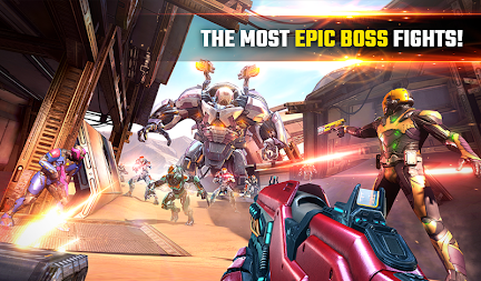 SHADOWGUN LEGENDS - FPS PvP Free Shooting Games APK screenshot thumbnail 21