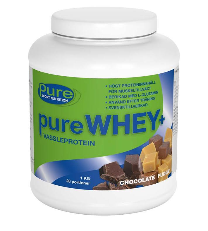 pure WHEY+ – Vassleprotein