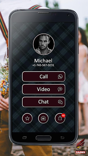My Boyfriend Video Call And Chat Simulator 1.1 screenshots 1
