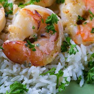 Shrimp in Gorgonzola Sauce