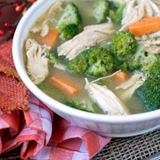 Turkey, Sweet Potato and Broccoli Soup