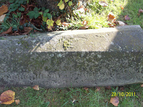 Photo: 42-[Child of] Henry and ------ ----- died August 7th 1861 aged 1 year 3 months