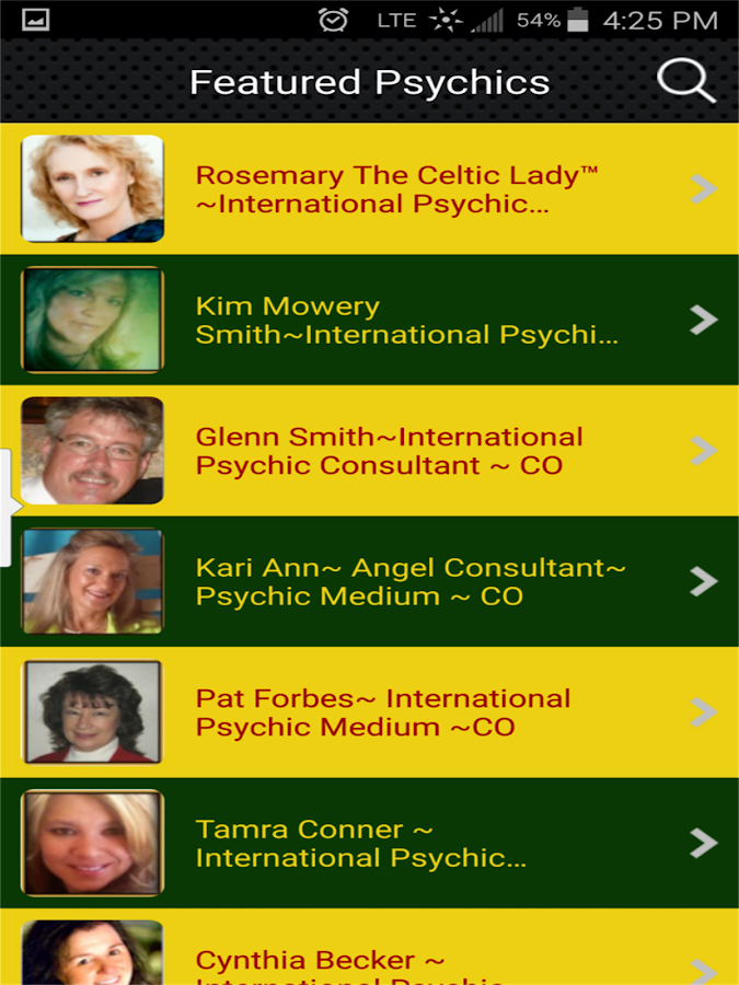 Global Assoc of Psychics & Hea- screenshot