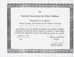 Photo: Affiliate Certificate