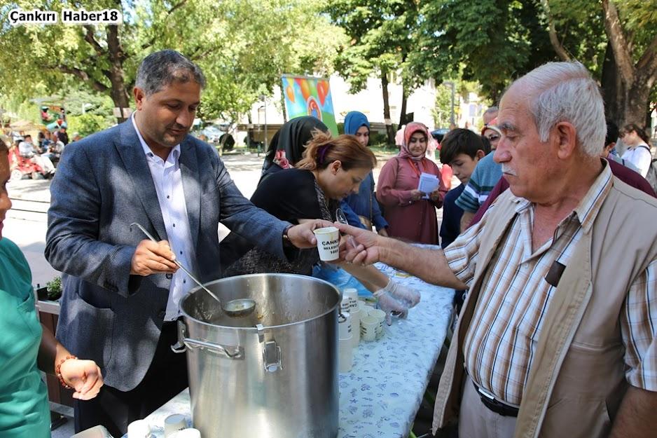 Çankırı Belediyesi, belediye Başkan yardımcısı İhsan Bostan,Aşura İkramı,