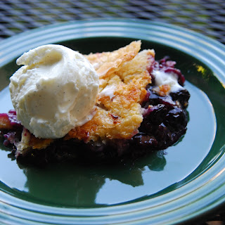 Blueberry & Peach Cobbler