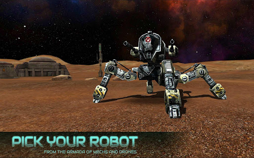 Robot War - ROBOKRIEG APK MOD – Monnaie Illimitées (Astuce) screenshots hack proof 1
