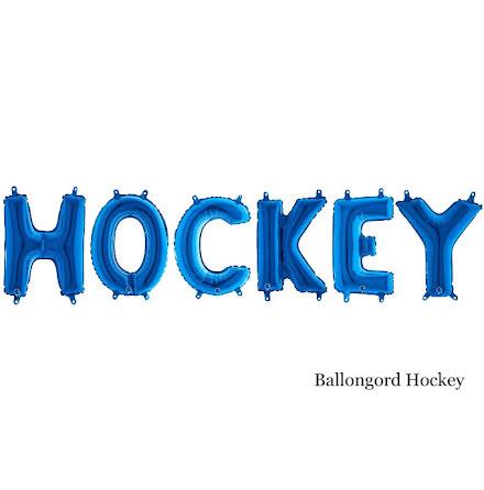 Ballongord - Hockey, blå