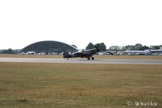 Photo: Og spitfire'ene er allerede i gang med flygingen sin.