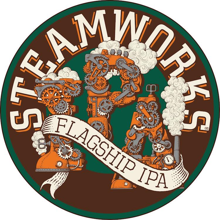 Logo of Steamworks Flagship IPA