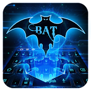 App Bat Hero Blue Neon Keyboard APK for Windows Phone