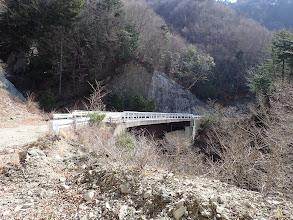 最奥に立派な橋