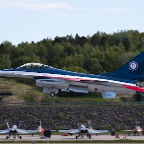 Royal Norwegien airforce 100 years. by Kenneth Pettersen - Transportation Airplanes ( airforce, f-16, royal, norwegien, years, bodø, 100 )