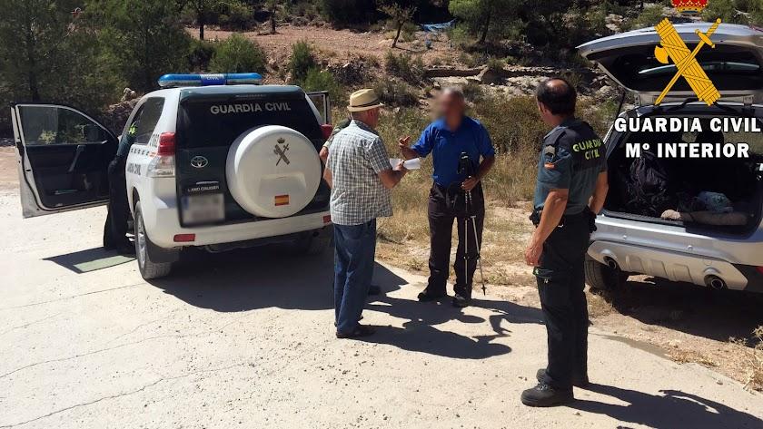 Dos senderistas rescatados en Sierra Larga