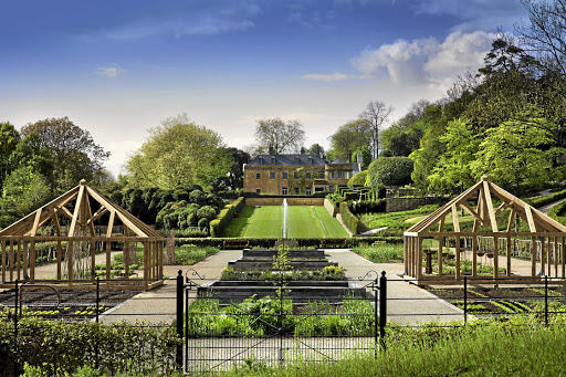 The show-stopping gardens of The Newt country estate in Somerset, UK, are designed to take visitors on a historic journey through British gardening.