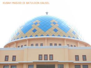 Photo: kubah masjid galvalume di batulicin kalsel