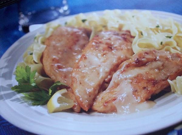 Katie Couric's Lemon Chicken Recipe