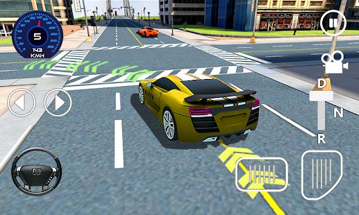 Car Driving Sim 3D - náhled
