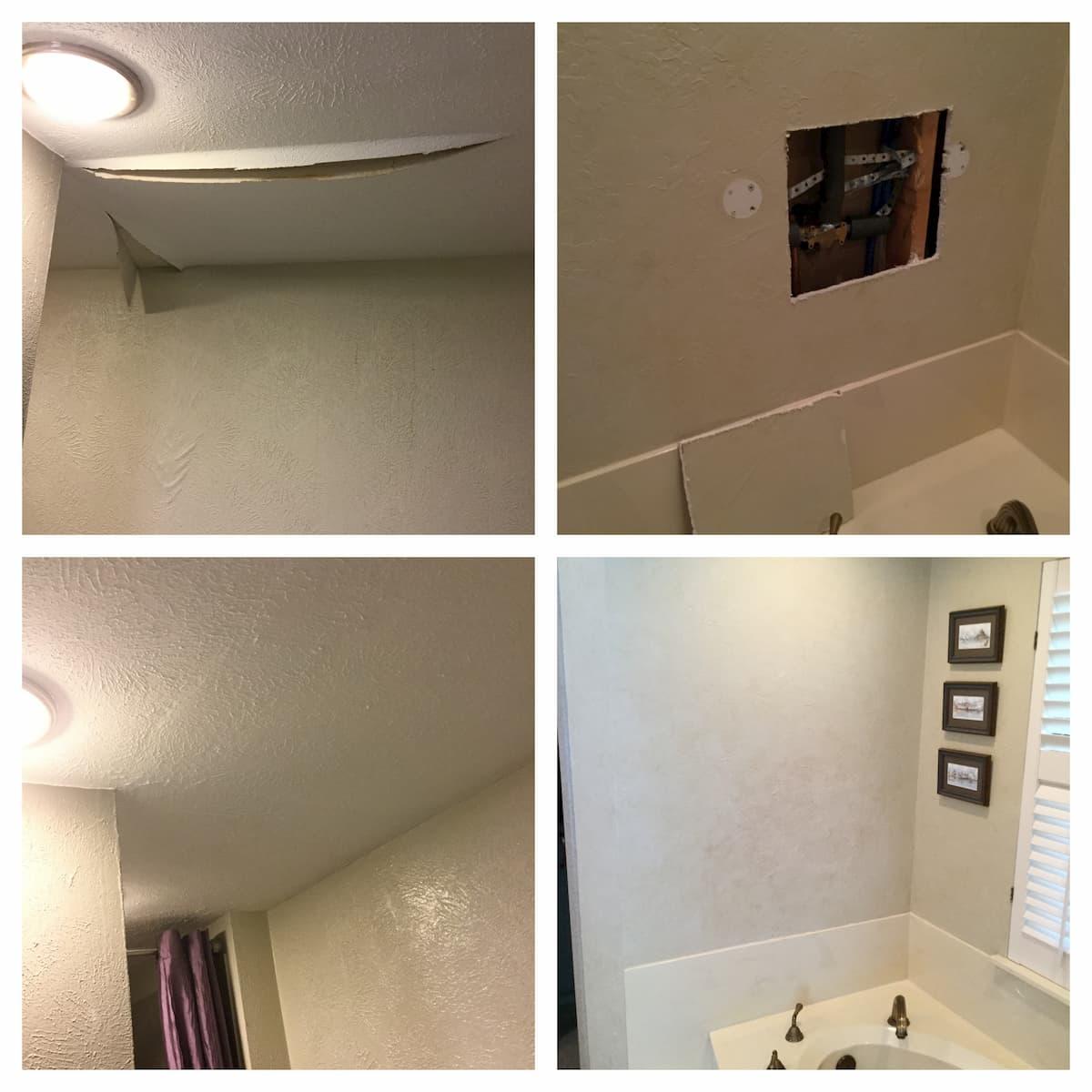 Garland Handyman drywall repair