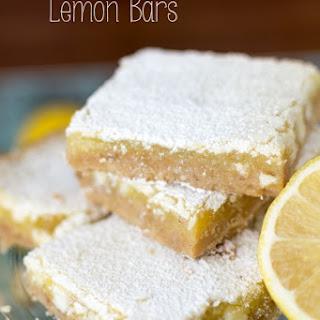 White Chocolate Lemon Bars {Win a Blendtec!}