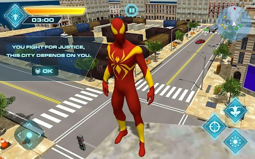 Download Flying Iron Spider Hero Adventure for PC and MAC