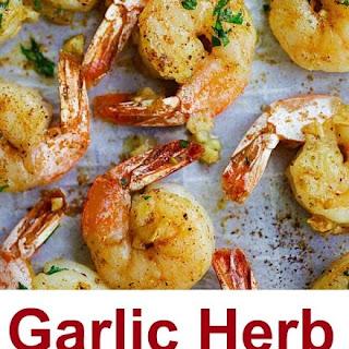 Garlic Herb Roasted Shrimp