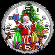 Christmas Clock Live Wallpaper