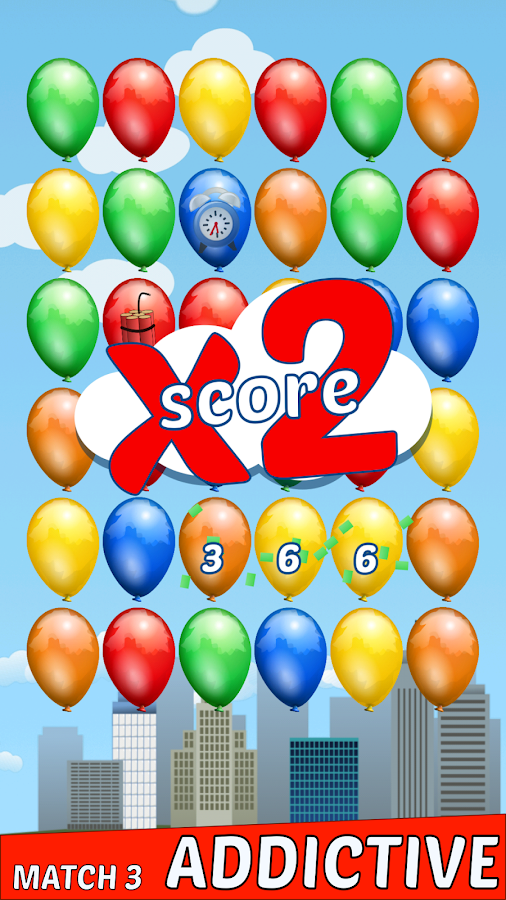 Boom Balloons (3 match and pop)- screenshot