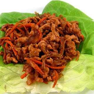 Low Carb Mu Shu Lettuce Wraps