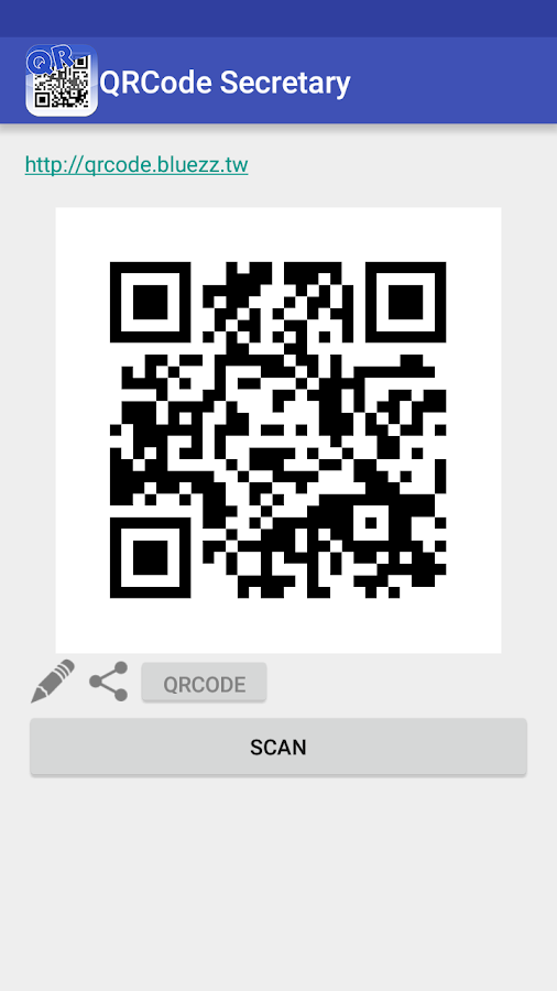 QRCode Secretary- screenshot