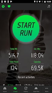 Running Distance Tracker + 1
