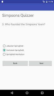 Quiz for Simpsons Fans- screenshot thumbnail