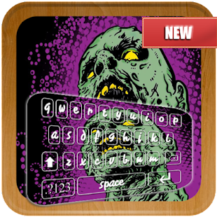 Chick Zombie Emoji Keyboard - náhled
