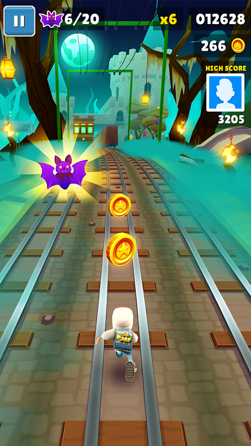 Screenshot 2 Subway Surfers 1.94.0 APK MOD